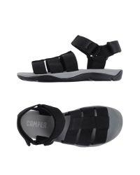 Camper | Black Sandals for Men | Lyst