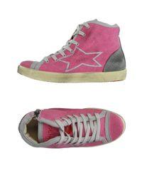 Ishikawa   Pink High-tops & Sneakers   Lyst