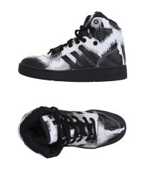 Jeremy Scott for adidas - White High-tops & Trainers - Lyst