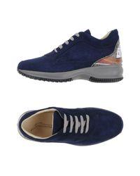 Gattinoni - Blue Low-tops & Trainers - Lyst