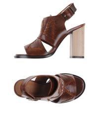 Thakoon Addition - Brown Sandals - Lyst