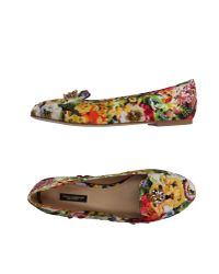 Dolce & Gabbana | Yellow Loafer | Lyst