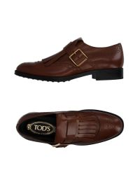 Tod's | Brown Loafer for Men | Lyst