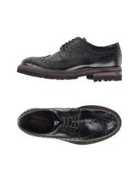 Barracuda Black Lace-up Shoes for men