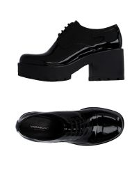 Vagabond Black Lace-up Shoes