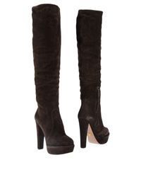 Prada - Brown Boots - Lyst
