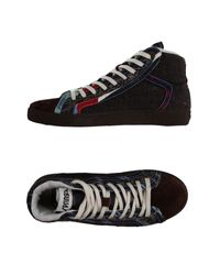 Springa - Black High-tops & Sneakers for Men - Lyst