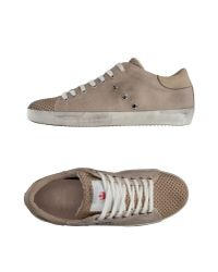 Leather Crown Multicolor Low-tops & Trainers for men