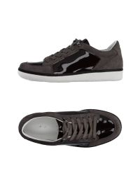 Emporio Armani Gray Low-tops & Trainers for men