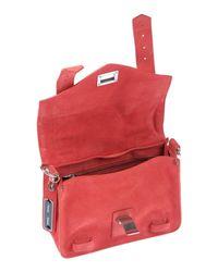 Bolso de mano Proenza Schouler de color Red