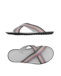 Bikkembergs White Sandals for men