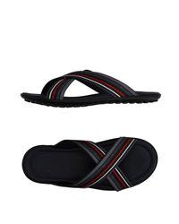 Bikkembergs Blue Sandals