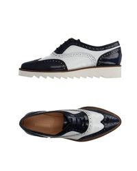 Bikkembergs Black Lace-up Shoes