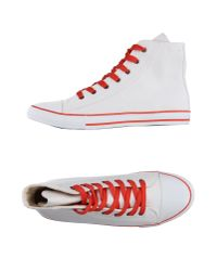 Dolce & Gabbana - White High-tops & Trainers for Men - Lyst