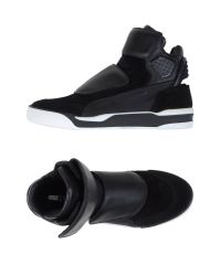 Alexander McQueen X Puma | Black High-tops & Sneakers for Men | Lyst