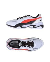 Alexander McQueen X Puma - White Low-tops & Sneakers - Lyst