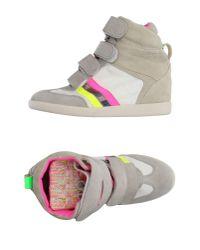 Serafini - Gray High-tops & Sneakers - Lyst