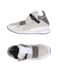 Alexander McQueen X Puma | White High-tops & Sneakers for Men | Lyst