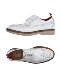 Green George - White Lace-up Shoes - Lyst