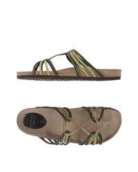 Maliparmi | Green Sandals | Lyst