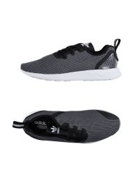 Adidas Originals Black Sl Loop Runner - Leather for men