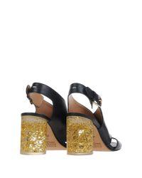 Maison Margiela | Black Sandals | Lyst
