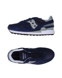 Saucony - Blue Low-tops & Sneakers for Men - Lyst