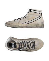 Golden Goose Deluxe Brand Gray High-tops & Sneakers for men