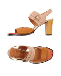 Chie Mihara | Brown Sandals | Lyst