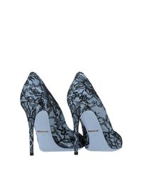 Dolce & Gabbana - Blue Pump - Lyst