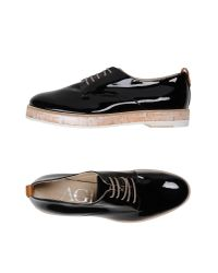 Agl Attilio Giusti Leombruni   Black Lace-up Shoe   Lyst
