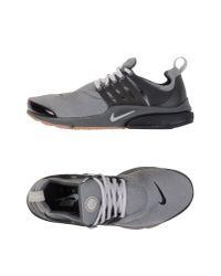 Nike | Gray Low-tops & Sneakers for Men | Lyst