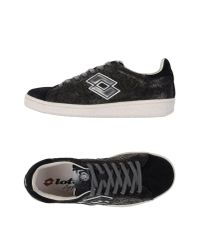 Lotto Leggenda Black Low-tops & Sneakers for men