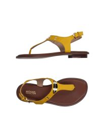 MICHAEL Michael Kors Yellow Toe Post Sandal