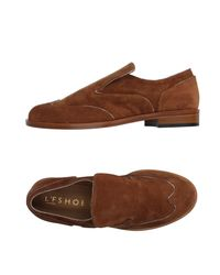 L'f Shoes | Brown Loafer | Lyst