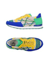 L4k3 Blue Low-tops & Sneakers