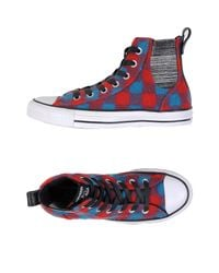 Converse Red High-tops & Sneakers