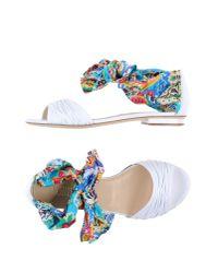 Loriblu White Sandals