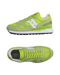Saucony Green Low-tops & Sneakers