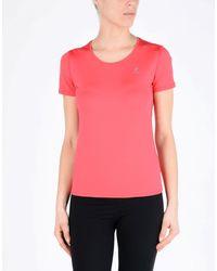 Le Coq Sportif Purple T-shirt