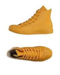 Converse Yellow High-tops & Trainers