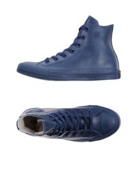 Converse Blue High-tops & Sneakers