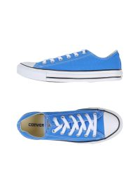 Converse   Blue Low-tops & Sneakers for Men   Lyst