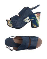 Audley | Blue Sandals | Lyst