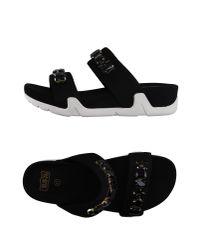 Ash | Black Sandals | Lyst