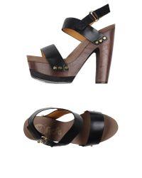 Flogg | Black Sandals | Lyst