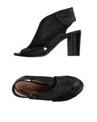 Chiarini Bologna Black Sandals