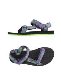 Teva | Purple Sandals for Men | Lyst