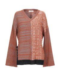 Pullover Suoli de color Brown