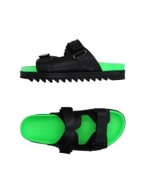 DSquared²   Black Sandals for Men   Lyst